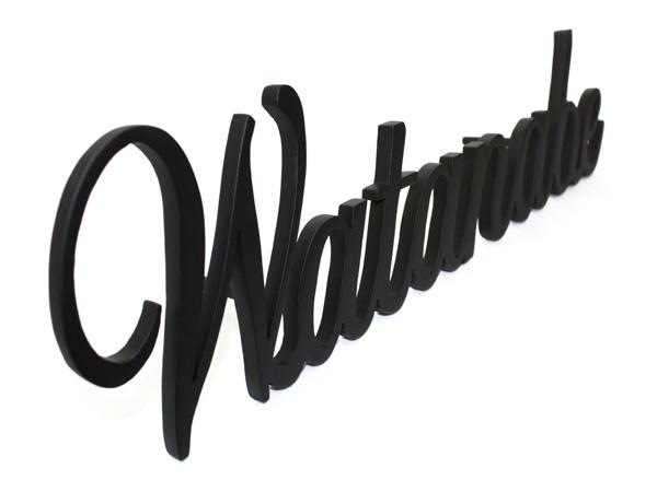 表札;アイアン表札・戸建用表札/サビにくい鉄製ハンドメイド/【書体限定】/039-20