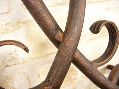 アイアン妻飾り・オーナメント/サビにくい鉄製ハンドメイド//094-g8