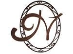 アイアン妻飾り・オーナメント/サビにくい鉄製ハンドメイド/イニシャル変更可/094-p2