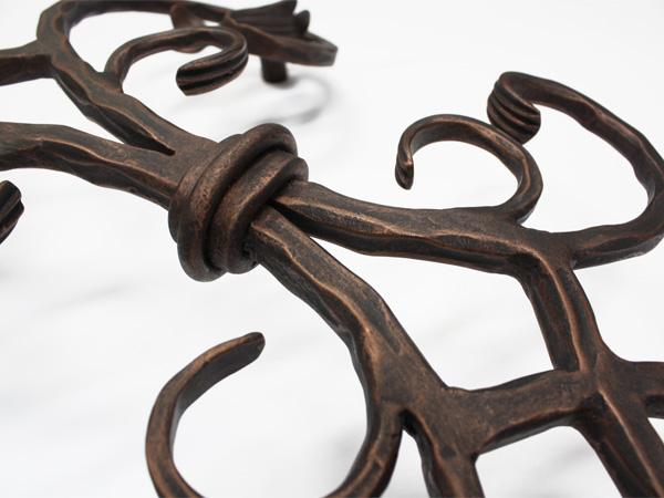 アイアン妻飾り・オーナメント/サビにくい鉄製ハンドメイド//094-t-2