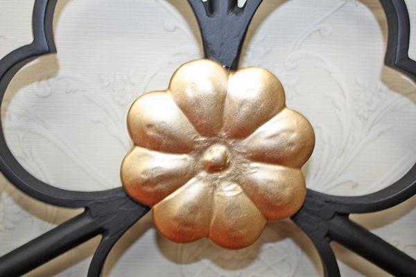 アイアン妻飾り・オーナメント/サビにくい鉄製ハンドメイド//094-w-2