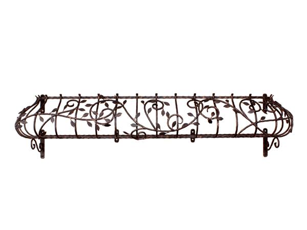 アイアンフラワーボックス/サビにくい鉄製ハンドメイド//flower-5