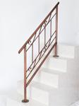 アイアン手すり・階段手すり/サビにくい鉄製ハンドメイド/屋内屋外兼用型・アンティーク/hr-4-florida