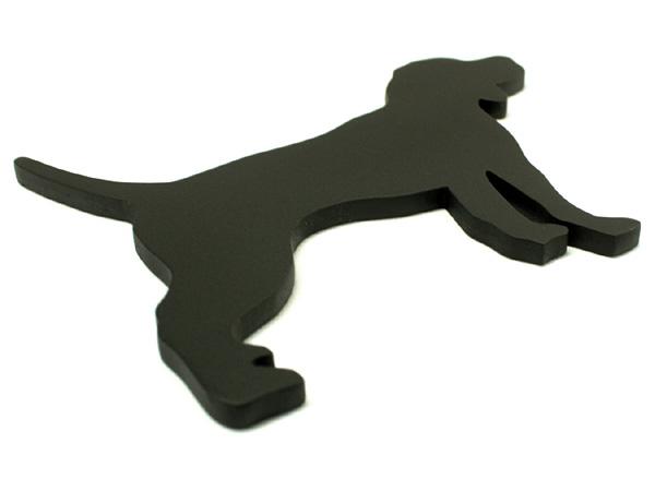 アイアン表札・追加用オブジェ/サビにくい鉄製ハンドメイド/動物・犬・ビーグル/obj-beagle