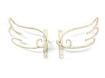 アイアンタッセル・房掛金具/サビにくい鉄製ハンドメイド/天使・エンジェル・ANGEL/tassel-angel