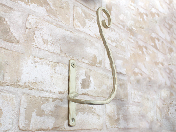 アイアンタッセル・房掛金具/サビにくい鉄製ハンドメイド//tassel-st-m-r