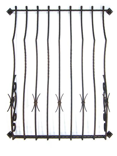 アイアン面格子/サビにくい鉄製ハンドメイド//wg-b100